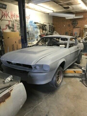 1968 67 Ford Mustang Fastback Body Rolling Shell Conversion