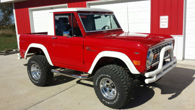 1968 Ford Bronco 68 Original 1/2 Cab