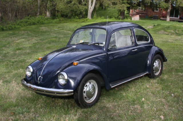 blue volkswagen beetle bug vw  sale  technical specifications description