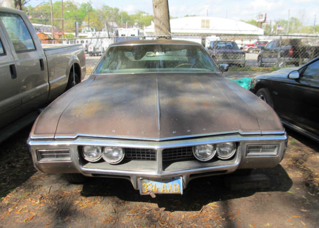 1968 Buick Riviera One Owner Very Low Miles Project Car