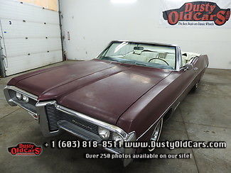 1968 Pontiac Bonneville Runs Drives Body Interior VGood 389V8