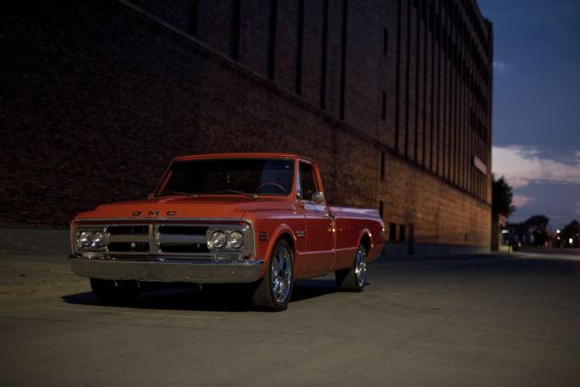 1968 c10 ls swap lowered wheels painted custom 67 69 70 71