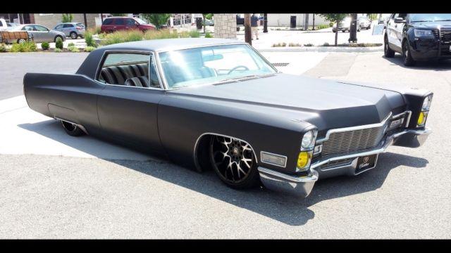 1968 Cadillac Calais 2 Door Coupe Bagged Custom For Sale Photos