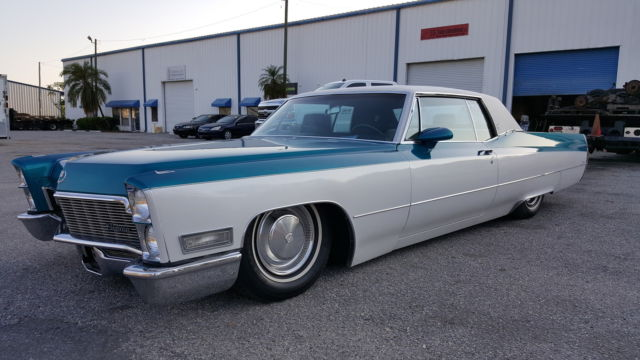1968 Cadillac Coupe Deville Bagged Air Ride For Sale