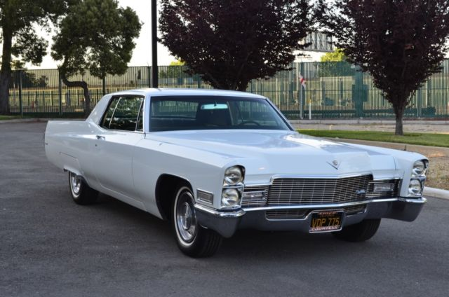 1968 Cadillac Coupe Deville Clean California Rust Free