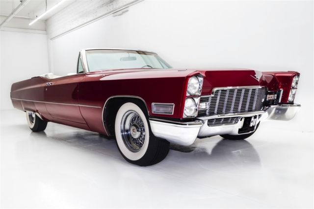 1968 Cadillac DeVille Brandywine Convertible