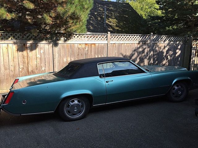 1968 Cadillac Eldorado- $2000 of Recent Work- body, paint