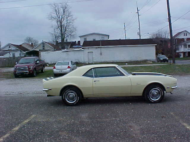 1968 CAMARO 396 BIG BLOCK for sale: photos, technical specifications