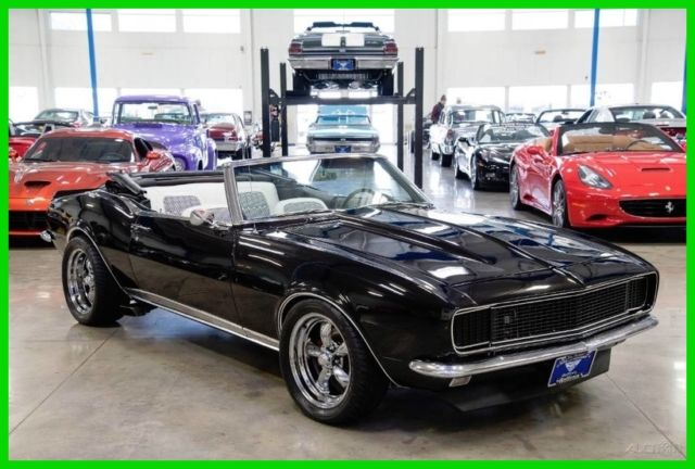 1968 camaro convertible resto mod ls1 powered 350hp automatic 67 68 69 for sale photos. Black Bedroom Furniture Sets. Home Design Ideas