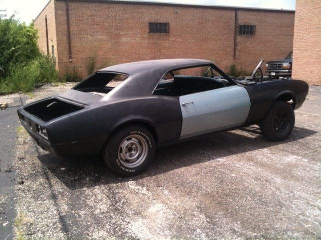 1968 Camaro Project Car, Ready to finish, Rust Free Roller