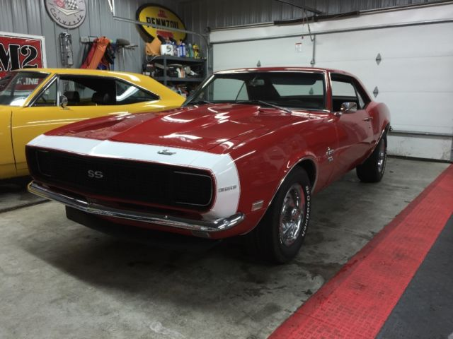 1968 Copo Camaro For Sale >> 1968 Camaro SS 396 4sp No Reserve / Barn Find / Red / 1967 1969 427 Copo Yenko for sale: photos ...