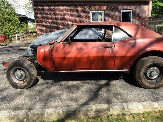 1968 camaro z28 no motor and trans project for sale photos technical specifications description. Black Bedroom Furniture Sets. Home Design Ideas