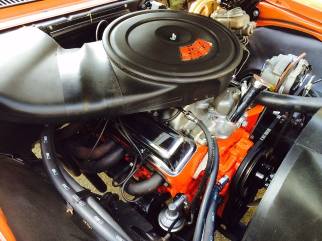 Chevrolet Engine Air Cleaner : Camaro z with rare cowl plenum air cleaner for