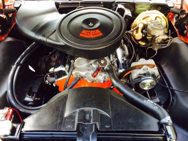 1968 CAMARO Z28 with RARE COWL PLENUM AIR CLEANER for sale