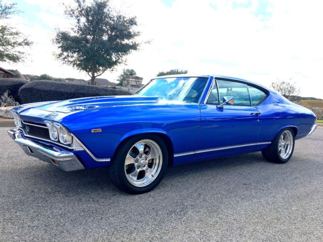 1968 Chevelle Pro Touring Ls Powered For Sale Photos