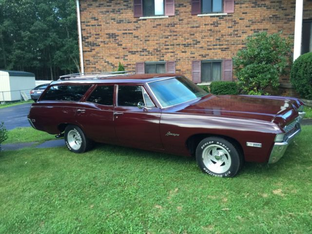 1968 chevrolet biscayne impala station wagon for sale photos technical specifications description. Black Bedroom Furniture Sets. Home Design Ideas