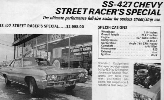 1968 Chevrolet Biscayne Motion Performance Baldwin Chevrolet Tribute For Sale Photos Technical Specifications Description