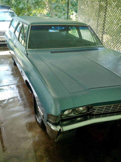 1968 Blue Chevrolet Other Wagon with Blue interior