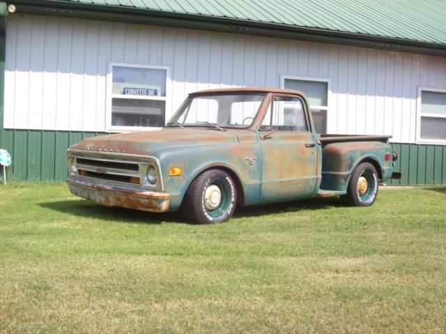 1968 Chevrolet C-10 chevy c-10 shop truck patina stepside