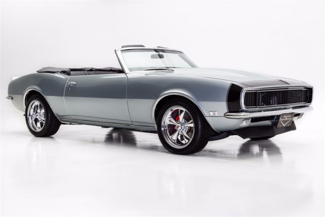 1968 Chevrolet Camaro Silver Rs Ss Options Automatic Convertible