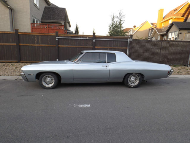1968 Chevrolet Caprice Coupe 396cid Match Impala For