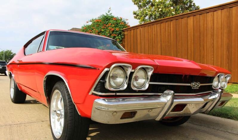 1968 Red Chevrolet Chevelle BIG BLOCK 454 RESTORED BAD BOY-NEW LOW PRICE- N/A with Black interior