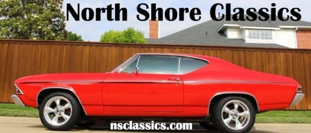1968 Chevrolet Chevelle BIG BLOCK 454 RESTORED-NEW LOW PRICE-RUST FREE-SUP