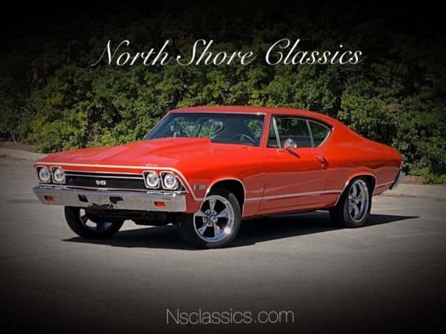 1968 Chevrolet Chevelle -NEW HUGGER ORANGE PAINT-RUST FREE ALABAMA MUSCLE