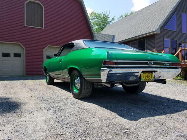 1968 Chevrolet Chevelle Resto-mod 496 bbc solid roller frame