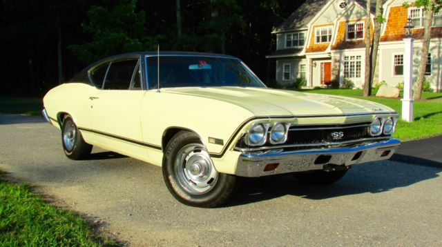 1968 Chevrolet Chevelle SS 396 #'s match