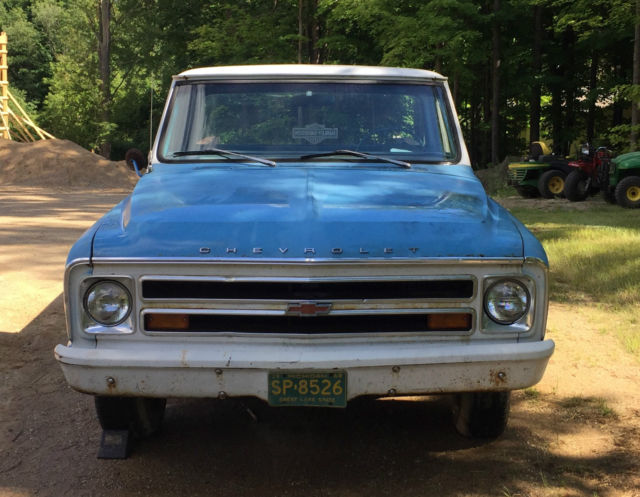 1968 Chevrolet Chevy C10 Pickup Truck 6 Cyl Clean Le And Runs