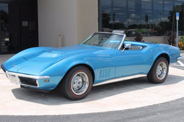 1968 Chevrolet Corvette #'s Matching Tri-power 427Ci V8 435HP 4-speed w/ha