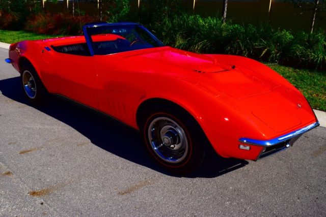 1968 Chevrolet Corvette 427/435 HP Numbers Matching Complete Restoration