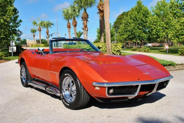 1968 Chevrolet Corvette Convertible 427 Numbers Matching Rare!