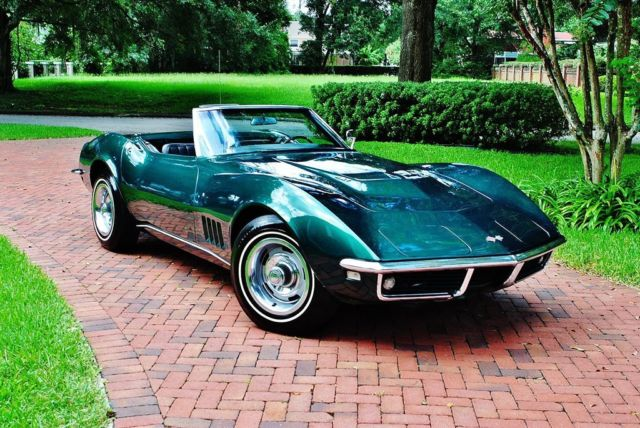 1968 Chevrolet Corvette Convertible 427/400 Tri Power Numbers Matching