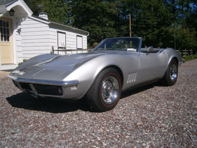 1968 Chevrolet Corvette L36 Convertible