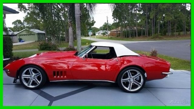 1968 Chevrolet Corvette 427 Tri-power numbers matching