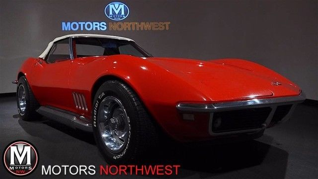 1968 Chevrolet Corvette Stingray Roadster