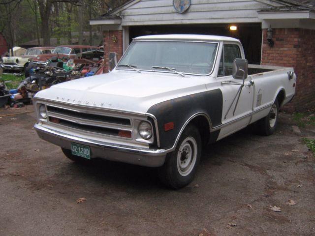 1968 chevy 3 4 ton pickup colorado pickup w 31 000 act mi factory 396. Black Bedroom Furniture Sets. Home Design Ideas