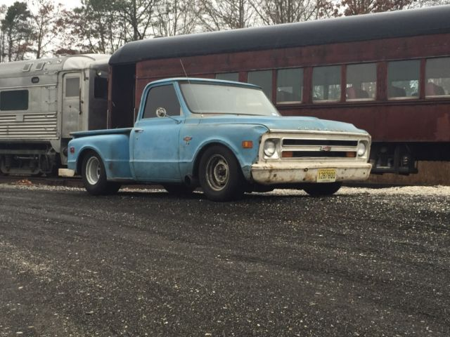 1968 Chevrolet C-10 Farm truck -street outlaws- turbo ls1