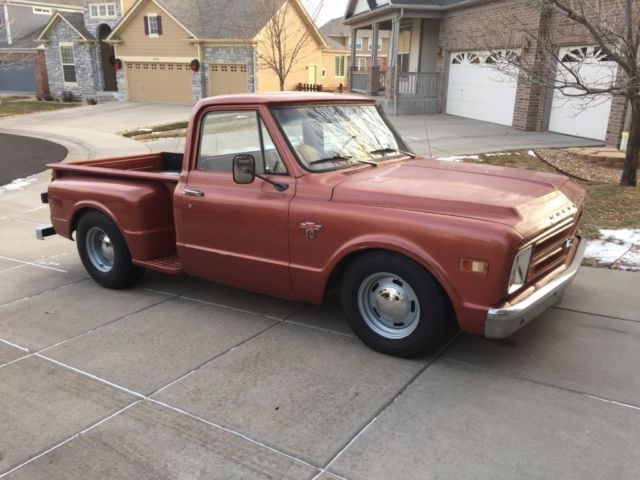 1968 Chevy C10 Short Bed Step Side Swb V8 For Sale Photos