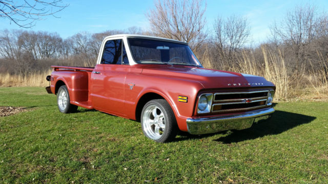 1968 Chevy C10 Stepside Truck Chevrolet Pickup C 10 68 For Sale