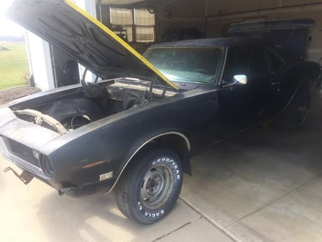 1968 CHEVY CAMARO ,PROJECT OR PARTS CAR for sale: photos, technical