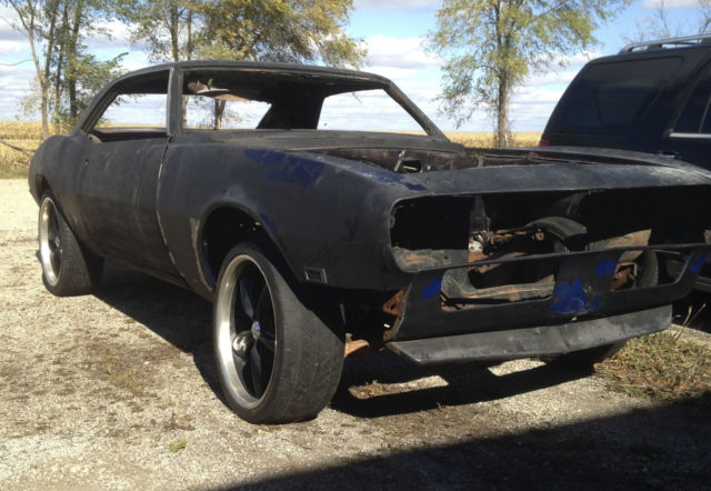 1968 chevy camaro roller project car z28 ss 350 396 copo 67 69 firebird for sale photos. Black Bedroom Furniture Sets. Home Design Ideas