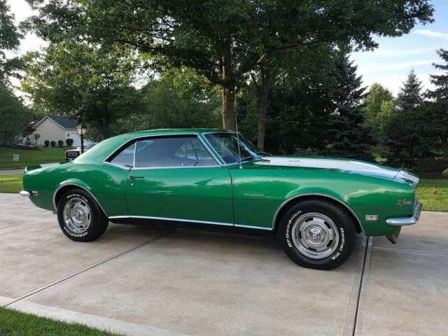 1968 Chevy Camaro RS Z28 * True Matching #'s RS Z28 * 302/4speed