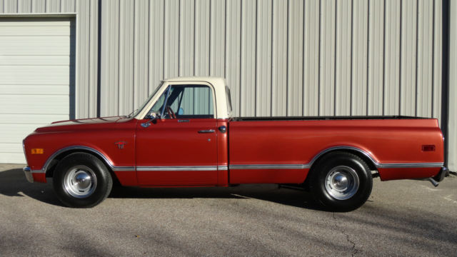 1968 chevy chevrolet c10 c 10 custom longbed lowered not gmc for