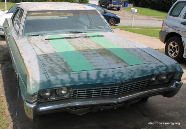 1968 Chevy Impala 4 Door Supernatural Metallicar Fan Project Car