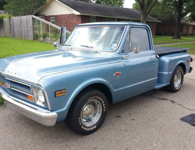 1968 chevy step side pickup v8 85 restored for sale for Chevy v8 motors for sale