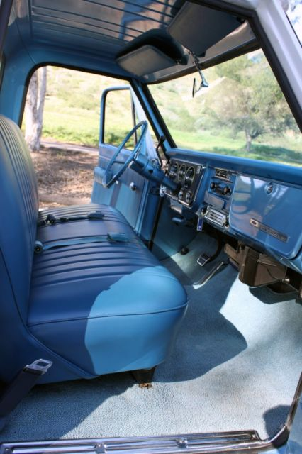 1968 Chevy Truck Blue And White For Sale Photos