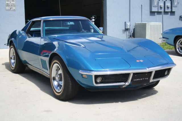 1968 Chevrolet Corvette True Florida Survivor